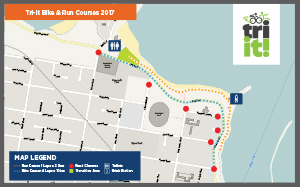Tri-It Bike & Run Course 2017